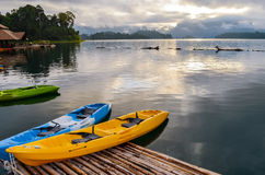 Colorful  Kayak Stock Images