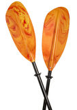 Colorful kayak paddle Royalty Free Stock Photo