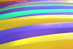 Colorful Kayaks stock photos