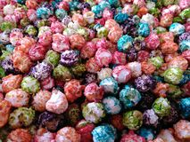 Colorful kettle corn Royalty Free Stock Photography