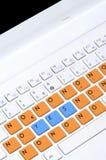 Colorful keyboard Stock Photo