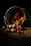 Colorful kids sweets Stock Photography