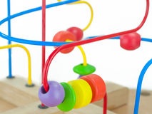Colorful kids toy Stock Photos