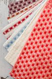 Colorful Kitchen Napkins Royalty Free Stock Photo