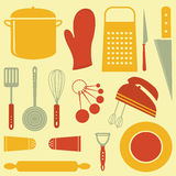 Kitchen composition Royalty Free Stock Image