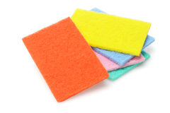Colorful Kitchen Scourers Royalty Free Stock Photography