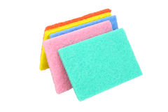 Kitchen Scouring Pads Stock Photo