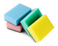 Colorful kitchen sponges Stock Photography