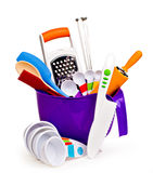 Colorful Kitchen Tools Stock Images