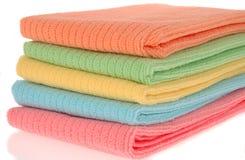 Colorful Kitchen Towel Set Stock Photo