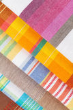 Colorful kitchen towels Stock Photo