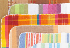 Colorful kitchen towels Royalty Free Stock Photography