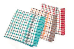 Colorful kitchen towels Stock Photography