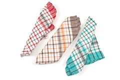 Colorful kitchen towels Stock Image