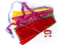 Colorful kite. On white background royalty free illustration