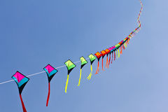 Colorful of kite Stock Photography