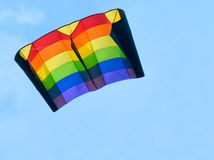 Free Colorful Kite At Blue Sky Royalty Free Stock Photos - 2999568