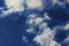 Colorful kite flying in the sky Stock Photography