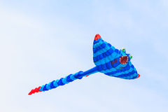 Colorful of kite flying in the wind . Stock Image