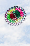Colorful of kite flying in the wind. Stock Photos
