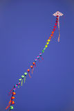Colorful Kite in the sky Stock Photography