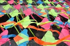 Colorful kites decoration Royalty Free Stock Image