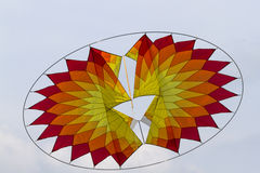Colorful kites flying in the sky Stock Photography