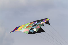 Colorful kites flying in the sky Royalty Free Stock Photos