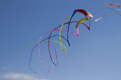 Colorful kites flying in the sky Royalty Free Stock Photo