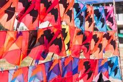 Colorful of Kites. Stock Photo