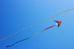 Colorful kites in the sky Stock Photography