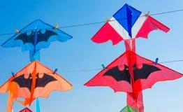 Colorful kites Stock Photo