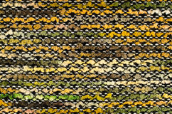 Colorful knitted fabric texture, for abstract background Stock Images