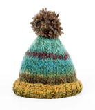 Colorful knitted hat Royalty Free Stock Photo