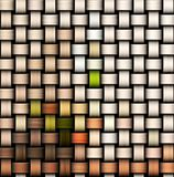 Colorful knitted texture Stock Photo