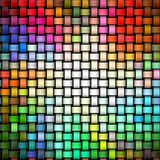 Colorful knitted texture Stock Photos