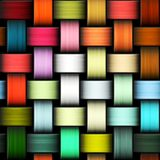 Colorful knitted texture Royalty Free Stock Images