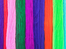 Colorful of knitting Stock Photos