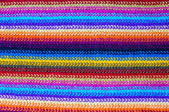 Colorful knitting background close up Royalty Free Stock Photography