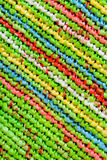 Colorful knitting background Stock Photography