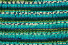Colorful knitting background Royalty Free Stock Photos
