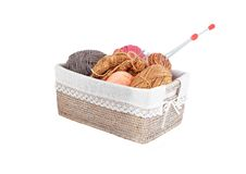 Colorful knitting Stock Photography