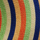 Colorful knitting pattern Royalty Free Stock Images