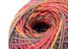Colorful knitting wool Stock Image