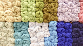 Colorful knitting wool Royalty Free Stock Photography