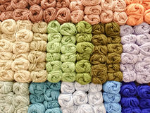 Colorful knitting wool Royalty Free Stock Photos