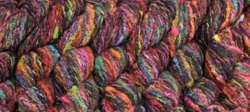 Colorful knitting yarn Royalty Free Stock Photography