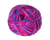 Colorful knitting yarn Royalty Free Stock Photos