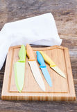 Colorful knives Stock Photography