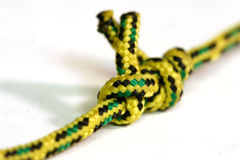 Colorful Knot. On Isolated White Background stock images
